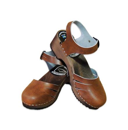 Treskosandal Ankle Close Antik